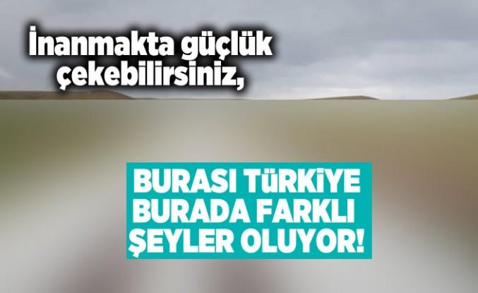 İnanmakta güçlük çekebilirsiniz, Burası Türkiye burada farklı şeyler oluyor!