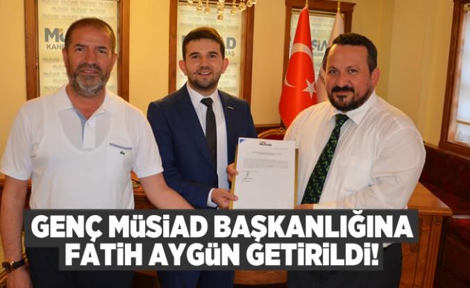 Kahramanmaraş Genç Müsiad Şube Başkanlığına Fatih Aygün getirildi!