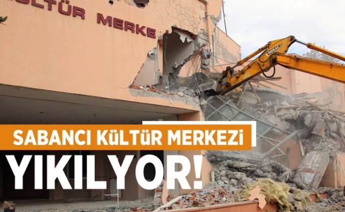 Sabancı Kültür Merkezi yıkılıyor!