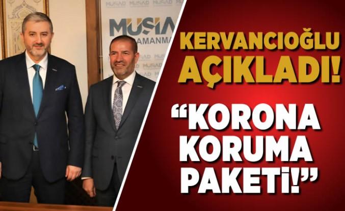 Kervancıoğlu Açıkladı! ''korona koruma paketi!''
