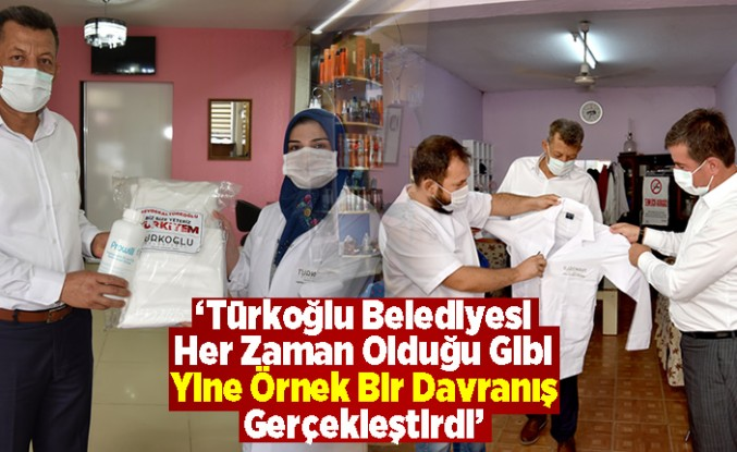 'Türkoğlu Belediyesi Her Zaman Olduğu Gibi Yine Örnek Bir Davranış Gerçekleştirdi'