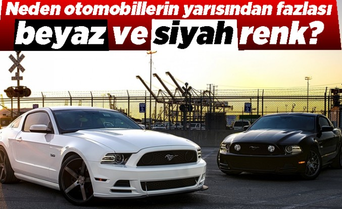 Neden otomobillerin yarısından fazlası beyaz ve siyah renk?
