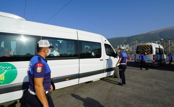 Okul Servislerinde Hijyen Denetimi