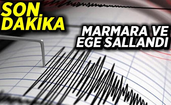 Son Dakika! Şiddetli deprem oldu!