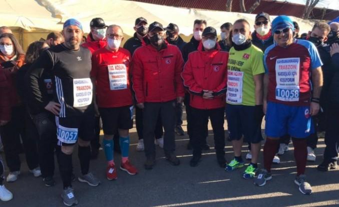 Kahramanmaraş-Trabzon kardeşliği için koştular