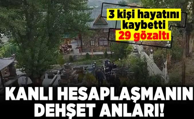 3 kişi hayatını kaybetti 29 gözaltı! Kanlı hesaplaşmanın dehşet anları!