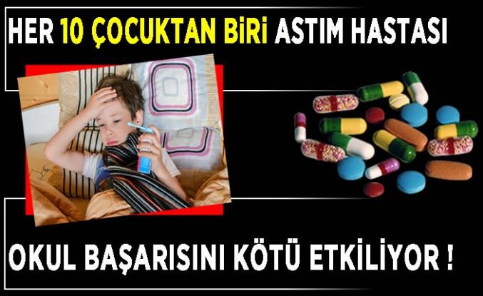 Uzman Dr. Ömer Akçal: 10 çocuktan biri astım hastası