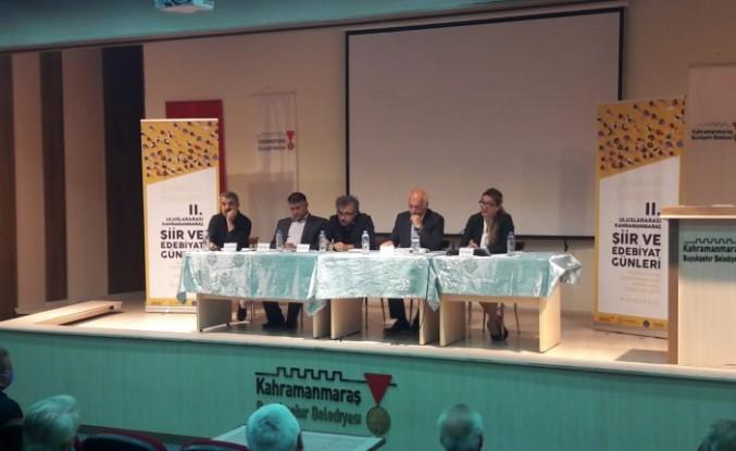 Karacaoğlan Memleketi Kahramanmaraş'ta Anlatıldı