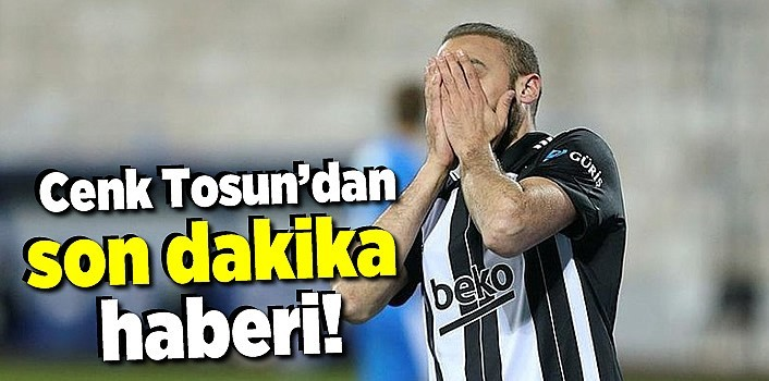 Beşiktaş'ta BB Erzurumspor maçında sakatlanan Cenk Tosun sezonu kapattı!