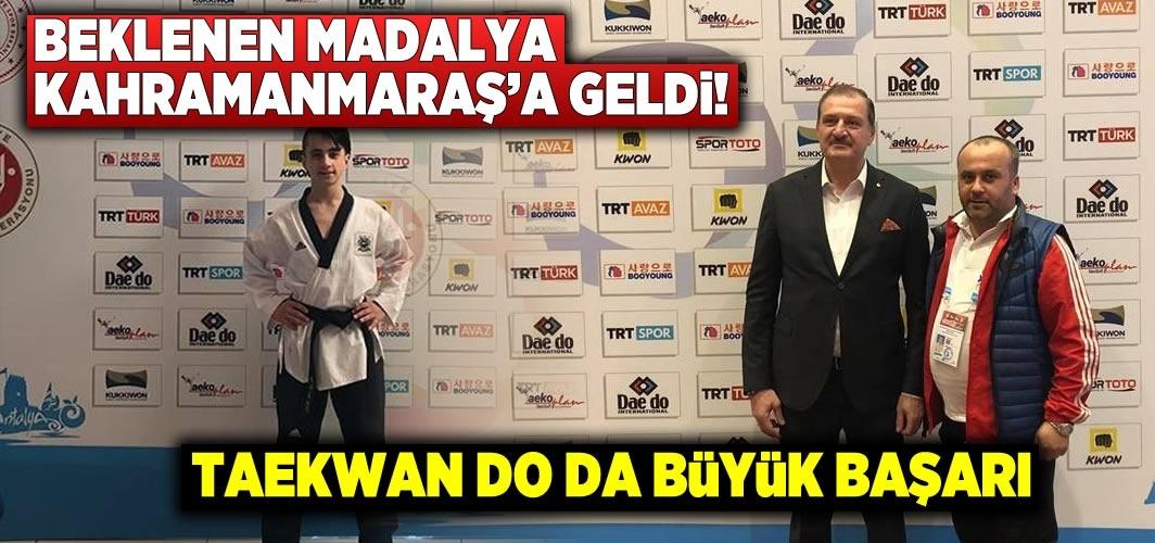 Beklenen madalya Kahramanmaraş'a geldi!
