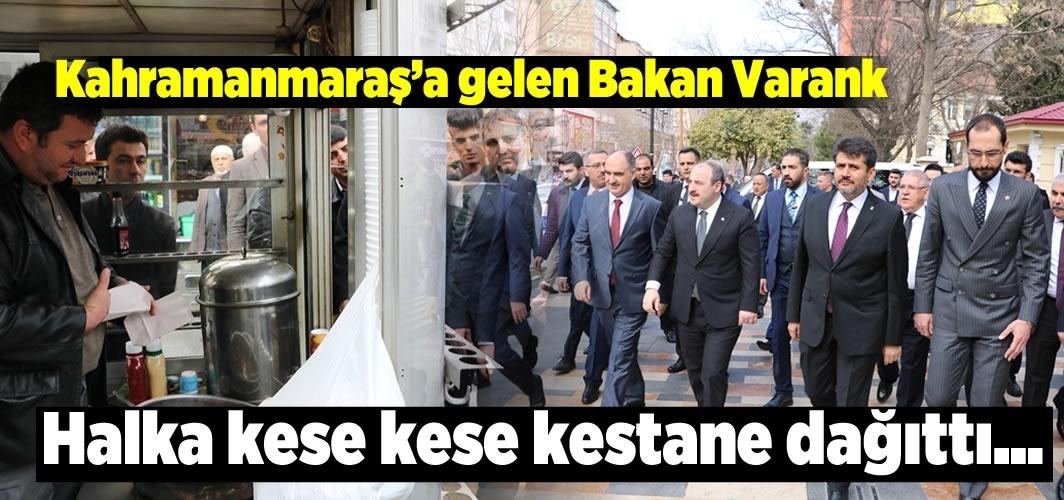Bakan Varank halka kese kese kestane dağıttı!