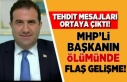 MHP'li başkanın ölümünde flaş gelişme!