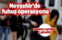 Nevşehir'de fuhuş operasyonu, 3 gözaltı!
