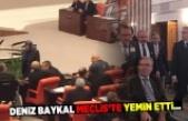Deniz Baykal Meclis'te yemin etti!