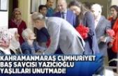 Kahramanmaraş Cumhuriyet Başsavcısı Yazıcıoğu Yaşlıları unutmadı!