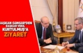 Başkan Güngör'den Başkan Vekili  Kurtulmuş'a ziyaret
