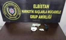 Elbistan'da 1 kişi uyuşturucudan tutuklandı