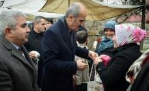 Kahramanmaraş Dulkadiroğlu'ndan vatandaşa alışveriş torbası