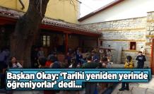 Kahramanmaraş'ta çocuklar tarihi yerinde yeniden öğrenecek...
