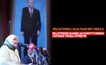 Milletvekili Öçal'dan net mesaj! Milletimizin iradesi AK Parti'yi birinci yaparak tecelli etmiştir