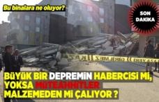 4 Katlı bir bina çöktü!