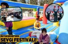 Büyükşehir'den sevgi festivali!