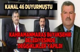 Kanal 46 duyurmuştu! Kahramanmaraş Büyükşehir...