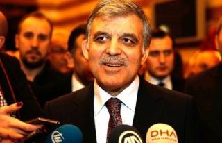 AK Parti'den Abdullah Gül'e flaş çağrı!