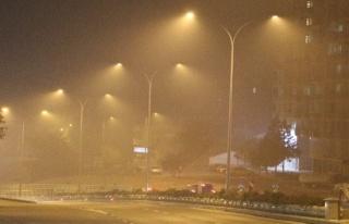 Sis ve dumanlı hava hayatı olumsuz etkiledi