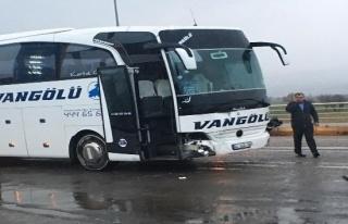 Kahramanmaraş'ta zincirleme kaza: 4 yaralı!
