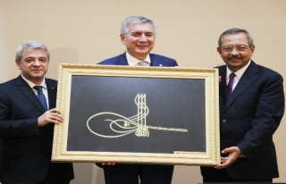 İSO yönetimi Kahramanmaraş'ta