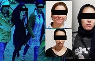 4 kadının sırrı dikkatli vatandaşın gözünden...