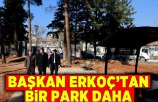 Başkan Erkoç'tan bir park daha!