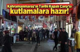 Kahramanmaraş'ın Tarihi Çarşı'sı 12...