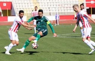 Kahramanmaraşspor-Konya Anadolu Selçukspor maç...