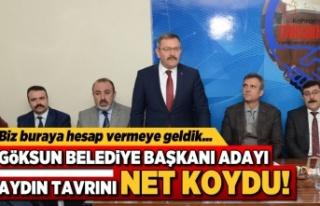 Kahramanmaraş'ta Başkan Aydın: Biz buraya hesap...