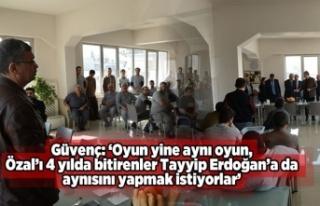 Özal'ı 4 yılda bitirenler Tayyip Erdoğan'a...