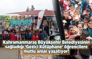 Kahramanmaraş Büyükşehir Belediyesi 'Gezici...