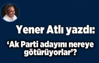 Yener Atlı yazdı:'AK Parti adayını nereye...