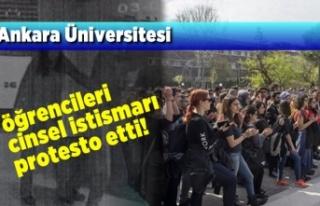 Ankara Üniversitesi öğrencileri Cinsel istismarı...