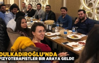 Dulkadiroğlu'nda Fizyoterapistler bir araya...