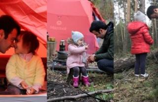 Genç adam tedaviyi küçük kızıyla doğada buldu!