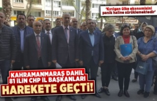 Kahramanmaraş dahil 81 ilin CHP İl Başkanları...