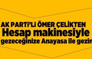"""Ömer Çelik Net konuştu: YSK Belirleyecek"""""""