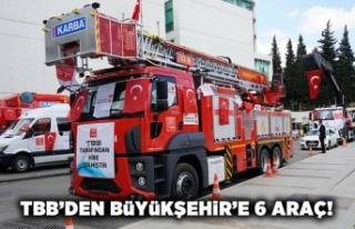 TBB'den Kahramanmaraş Büyükşehir Belediyesi'ne...
