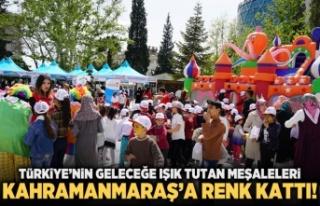 Türkiye'nin geleceğe ışık tutan meşaleleri...