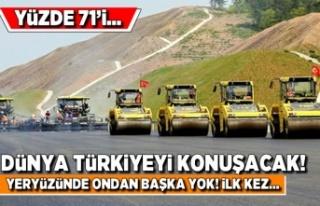 Dünya Türkiyeyi konuşacak! Yüzde 71'i...