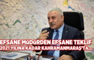 EFSANE MÜDÜRDEN EFSANE TEKLİF 2021 YILINA KADAR...
