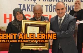 Kahramanmaraş'ta şehit aileleri ve gazilere Devlet...