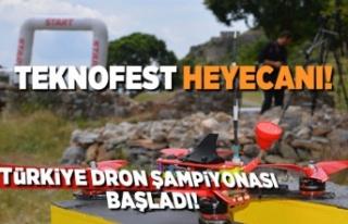 TEKNOFEST heyecanı Türkiye Drone Şampiyonası başladı!
